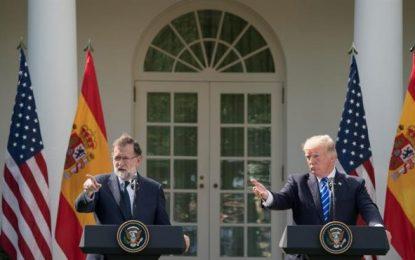 """Trump:""""Yo solo puedo hablar por mí, """"España es un gran País y debería permanecer Unido"""""""