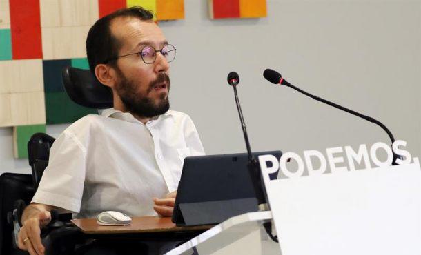 """Echenique (Podemos) quiere ser un 'hombre bueno', dejará el escaño para """"no robar protagonismo"""""""