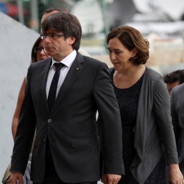 Carta unitaria de Colau, Puigdemont, Junqueras y Forcadell a Rajoy y al Rey para un 1-O pactado