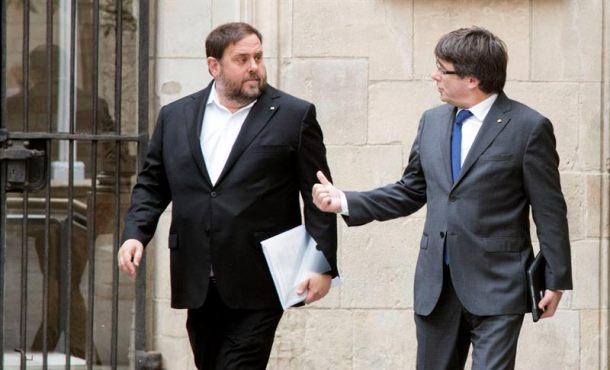 """Junqueras quiere """"llamar al banco"""" para malgastar y el Tribunal dice que no puede"""