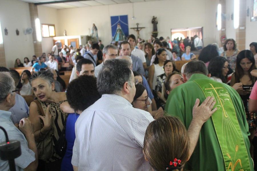 Medio millar de catalanes homenajean a Custodio en una multitudinaria Misa en Hospitalet