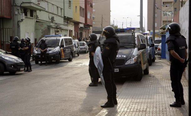 Detenido un presunto yihadista enMonte María Cristina (Melilla)