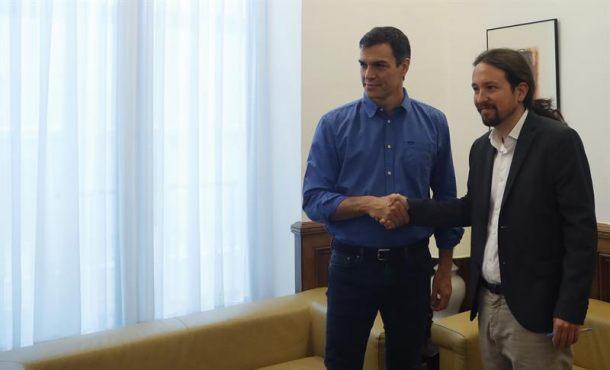 Iglesias apoya a Sánchez para abrir una «Comisión» de apaciguamiento con el separatismo