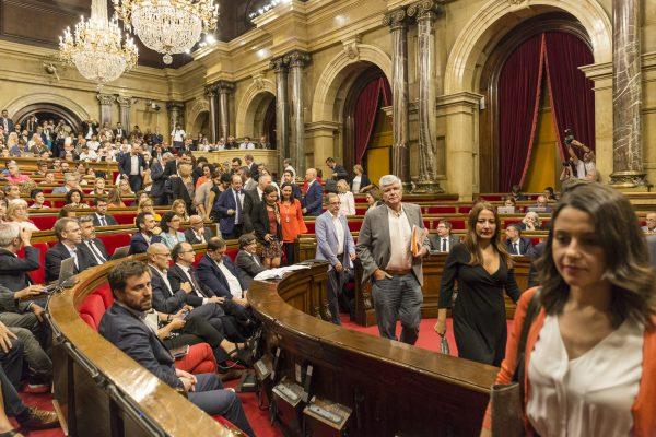 """«España y Catalanes» denuncia """"enfrentamiento y deslizamiento hacia la Guerra Civil"""" en Cataluña"""