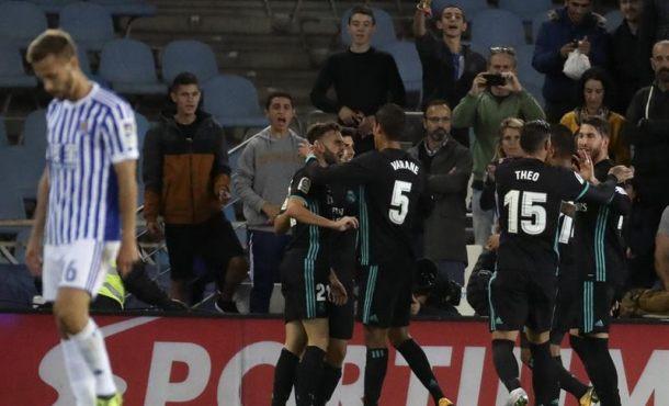 Mayoral y Bale enmiendan el rumbo del Real Madrid en un cómodo partido (1-3)