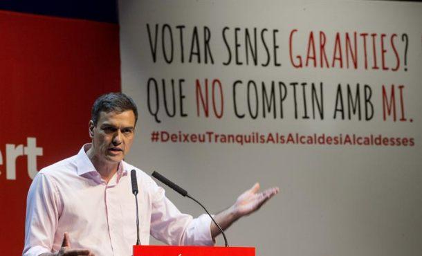 """""""No existen vías unilaterales (separatistas) ni puede haber ninguna idea por encima de la democracia"""""""