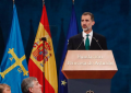 """Discurso del Rey contra la """"arbitrariedad y rencor"""" separatista en Cataluña desdeOviedo (Asturias)"""