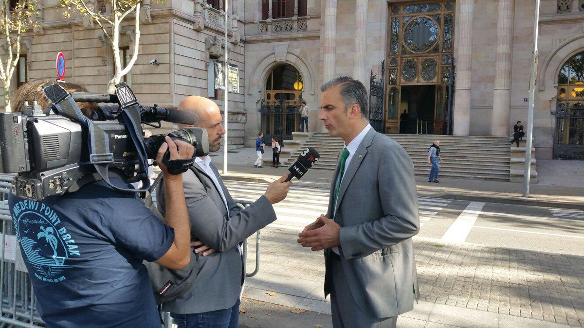 Admitida a trámite la querella de VOX contra Gobierno de Puigdemont y Forcadell por sedición