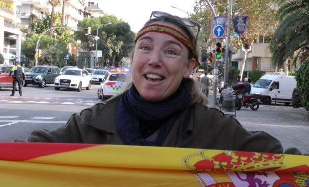 """Marta: """"Me he encontrado con separatistas y les he dicho: ¡viva España!, estáis engañados"""""""