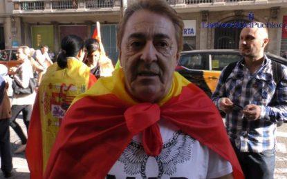"""""""Llevo 53 años en Cataluña, hemos levantado a Cataluña y 4 independentistas no romperán España"""""""