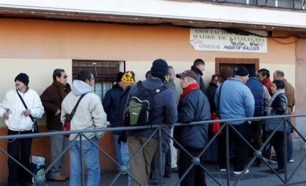 Más de 7 millones de adultos pasan hambre en la Unión Europea