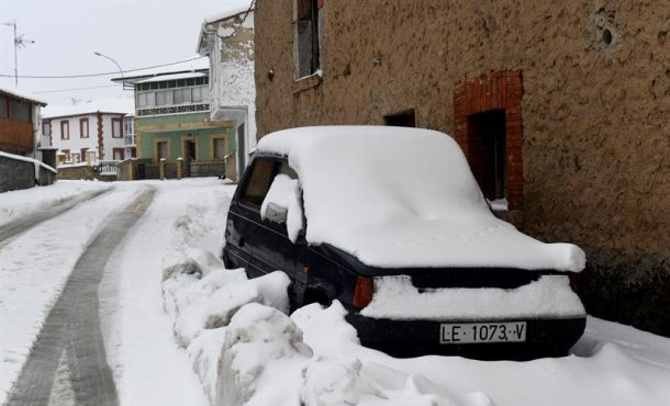 La masa de aire ártico se retira tras dejar media España teñida de blanco