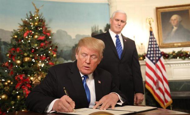 Trump reconoce a Jerusalén como capital de Israel y ordena el traslado de la embajada de EEUU