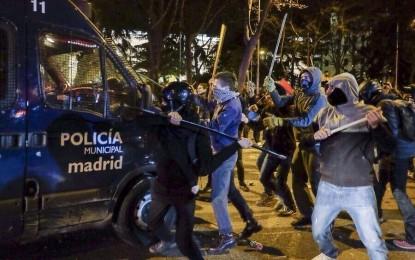 Marcha por la dignidad o ataque a España.