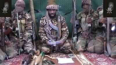 Miembros de la banda independentista islámica Bóokòo Haram