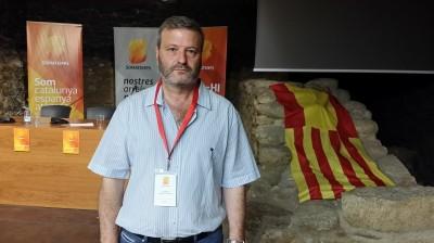 Juan Antonio Llopart, unos de los asistentes venido de Tarragona.