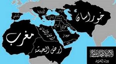 Mapa del SIL (EIIL o ISIS)