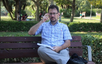 """""""¿Si Cataluña y el resto de España son una pareja, quién es la -mala- suegra?"""":  Ángel Puertas, autor"""