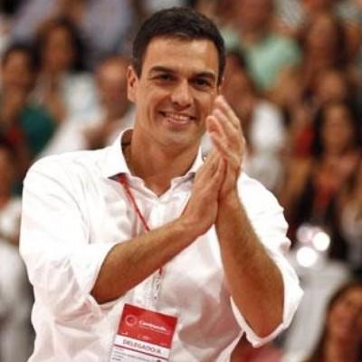 Pedro Sánchez Pérez Castellón en un acto de Partido -Foto Tuiter P. sanchez