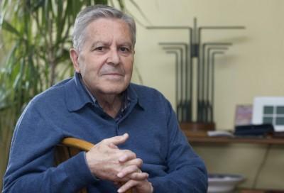 Carlos Jiménez Villarejo durante su entrevista con Eldiario.es, Foto eldiario.es