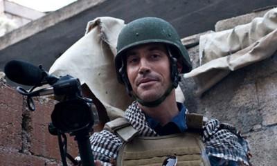 James Wright Foley en Aleppo (Siria); un mes antes de ser capturado por los yihadistas del SIL - Foto Nicole Tung