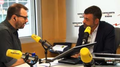 Santi Vila Vicente, Consejero de Territorio y Sostenibilidad del gobierno de Mas. Foto Cat. Radio