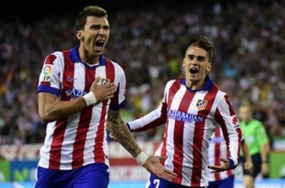 Mario Mandzukic celebra su gol - AFP
