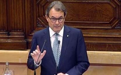 """Artur Mas  avisa de que disolverá el Parlamento """"si el 9-N no se puede votar con plenas garantías democráticas"""""""
