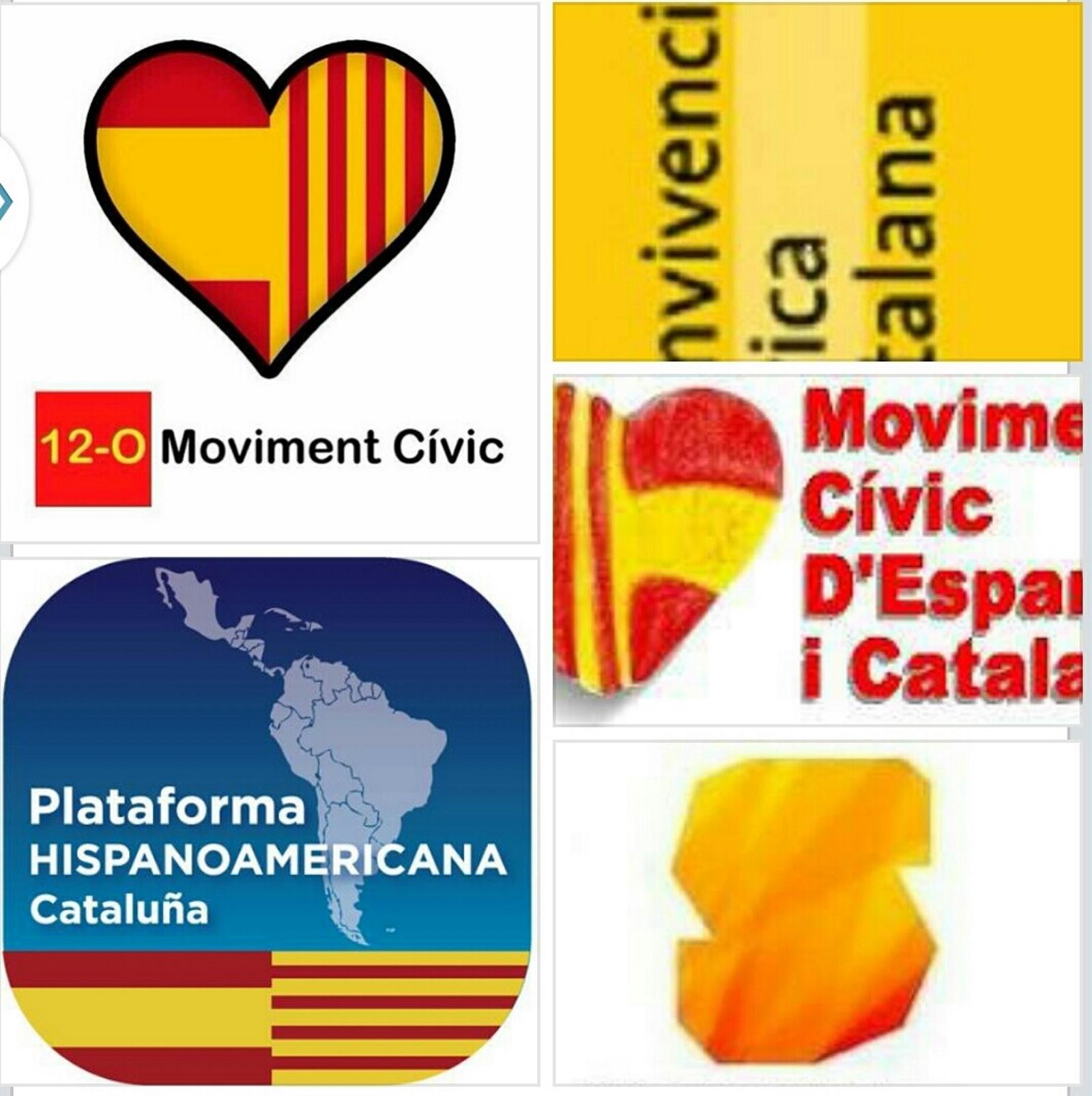 Las plataformas unionistas convocan, por separado, el 12-OCT 2014 porque  SCC tiene