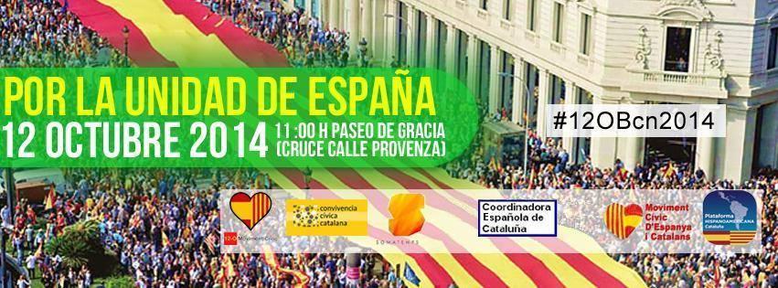 """Presidente del Movimiento Cívico 12-O: """"Todo está listo para el 12-O 2014, el lema es En Defensa De La Nación Española"""""""