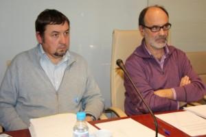 Alfons Montserrat Esteller y el regidor de urbanismo