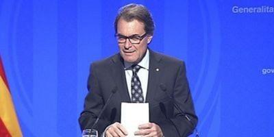 Artur Mas denunciará al gobierno del pp
