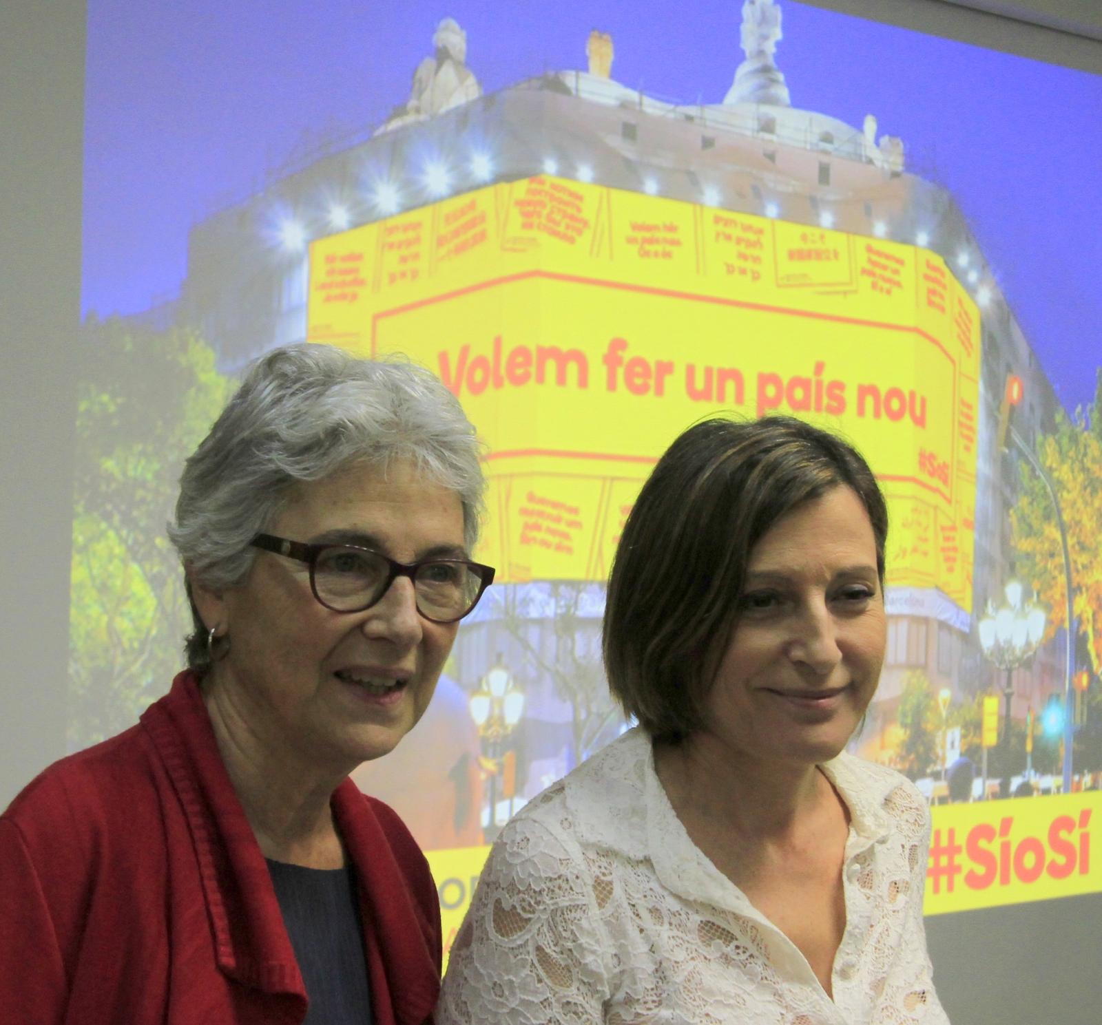 """¿Dónde están Forcadell y Casals? Han convocado """"un acto masivo"""" el domingo 19 en la Pl. de Cataluña"""