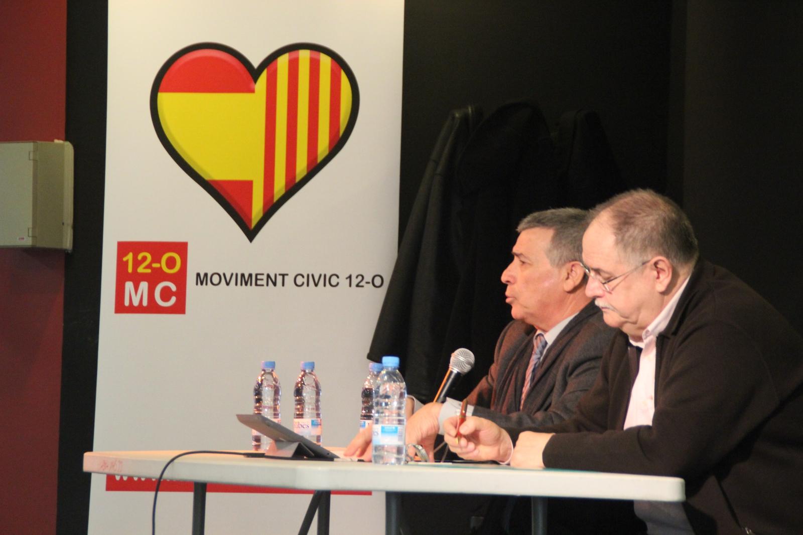 """MC 12-O llama a la """"movilización de auto defensa democrática en Barcelona el 9-N"""", ante la amenaza separatista"""