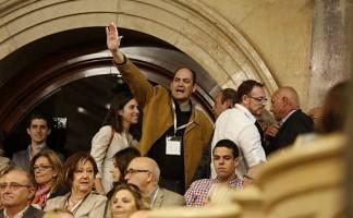 Miguel Bosch. Parlament, 29 octubre 2014