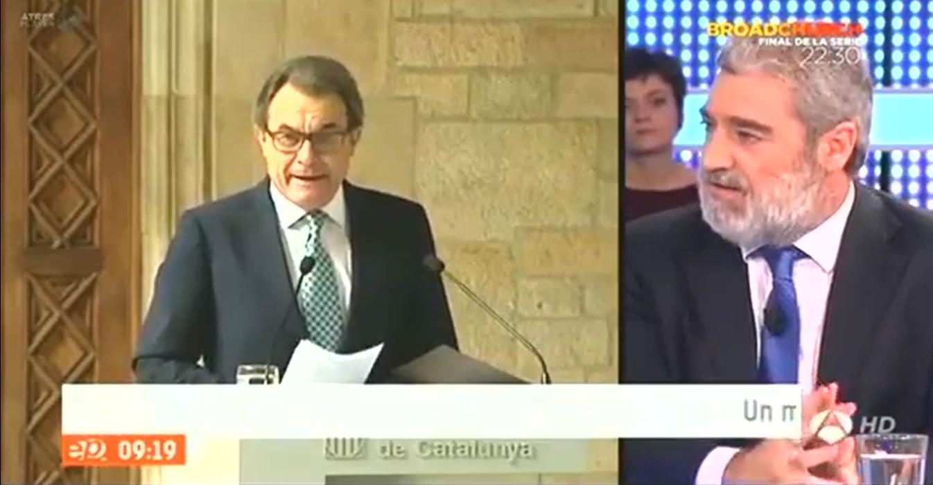 """Miguel Ángel Rodríguez: A Artur Mas """"le falta un fusilamiento. Le estaría estupendo. Lo que quiere es eso"""""""