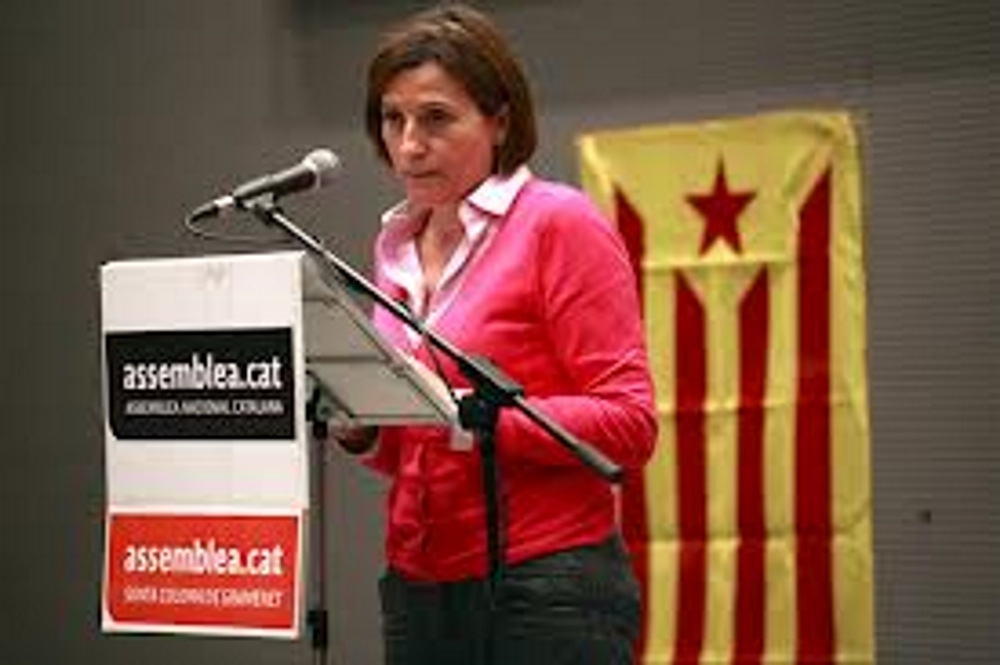 """Carme Forcadell dice que se conformaría con """"unas elecciones plebiscitarias"""" con una única candidatura separatista"""