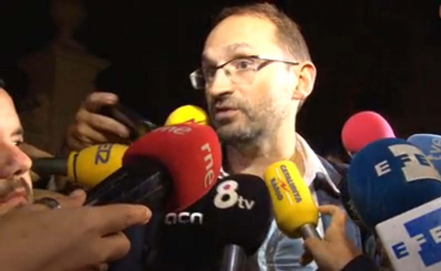 """Joan Herrera: """"El gobierno de Artur Mas ha descartado celebrar el referéndum ilegal"""" separatista del #9N"""