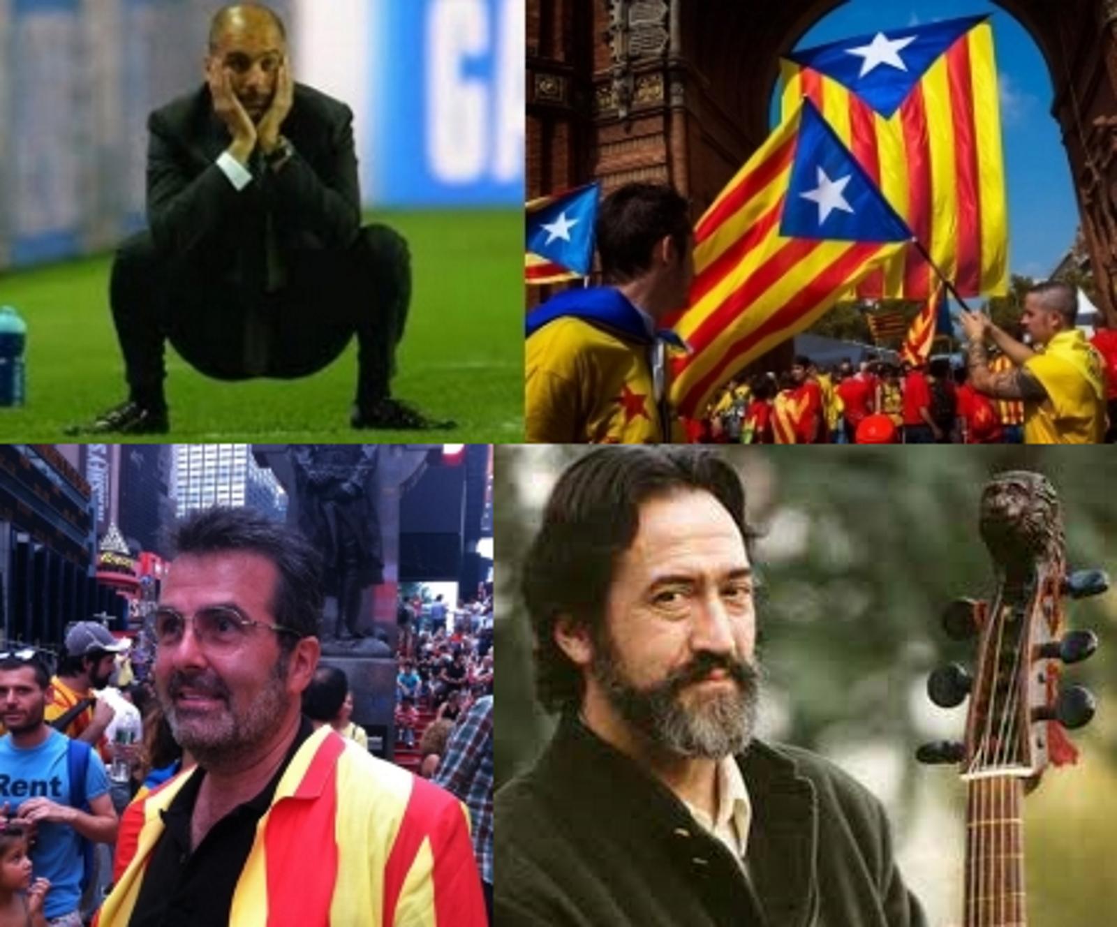 Guardiola y Xavier Sala firman el manifiesto secesionista 'Dad a separatistas su libertad'
