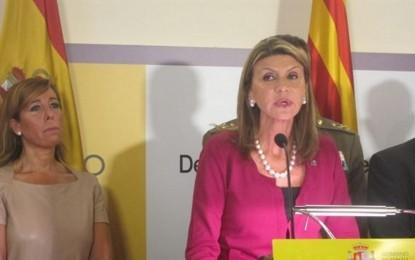 """María Llanos de Luna Tobarra: """"el futuro pertenece a los pueblos que caminan juntos y unidos"""", 12-O 2014"""