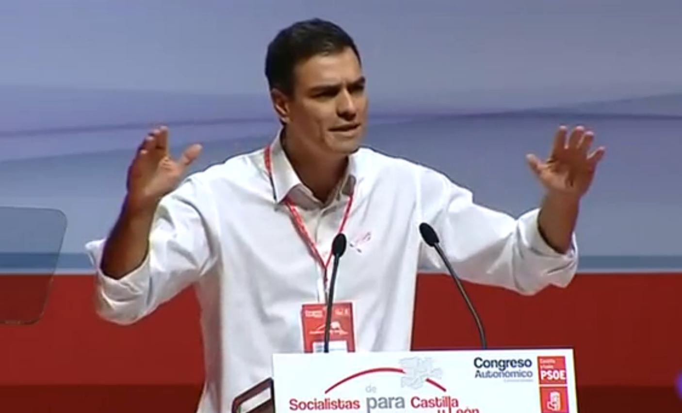 """Pedro Sánchez culpa a Rajoy de ser la """"gasolina"""" separatista que necesita Artur Mas para """"romper España"""""""