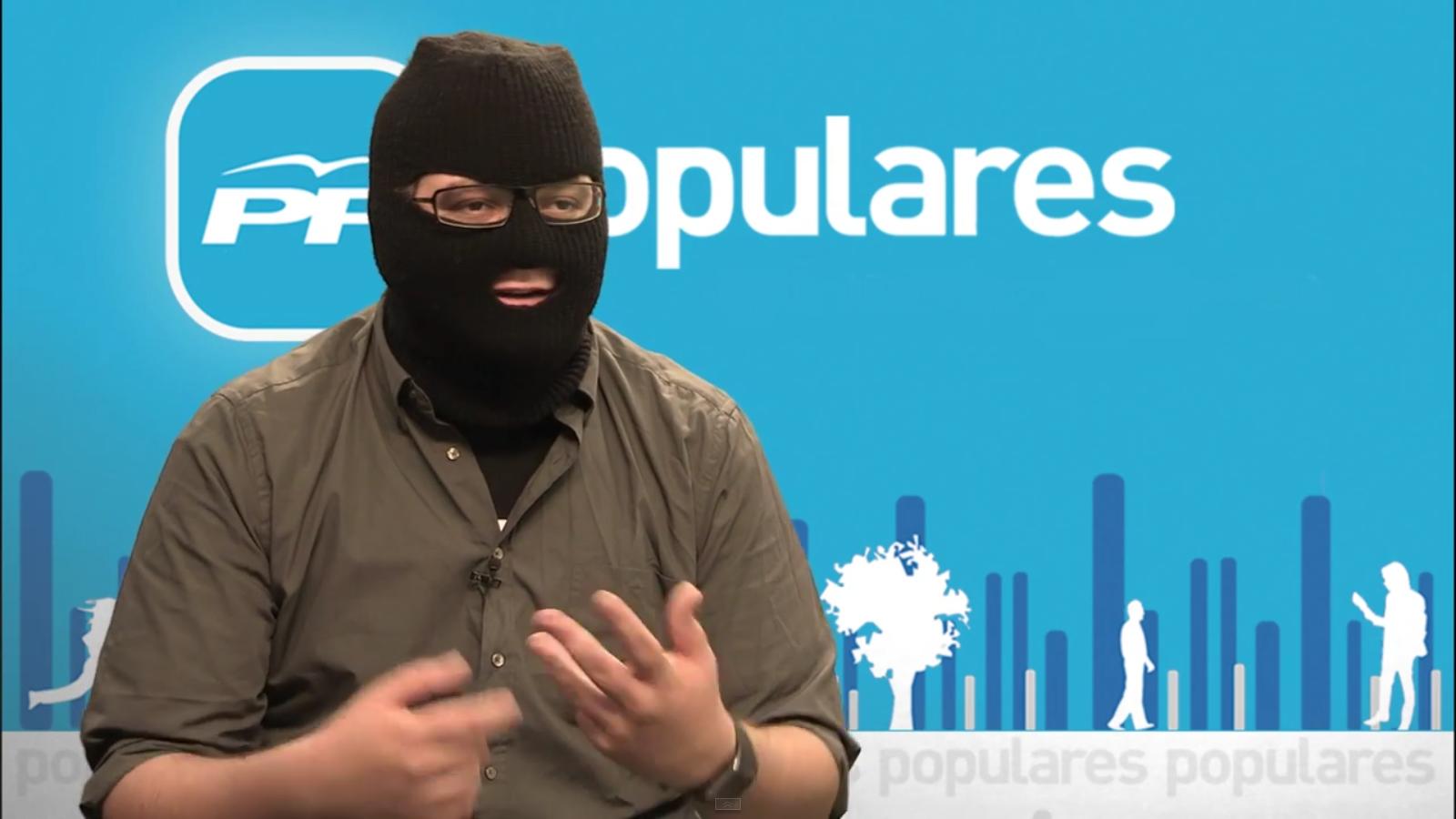 """Vox denuncia el ataque de """"La Tuerka"""" TV de PODEMOS dónde encapuchados terroristas de Podemos ofenden a víctimas de ETA"""