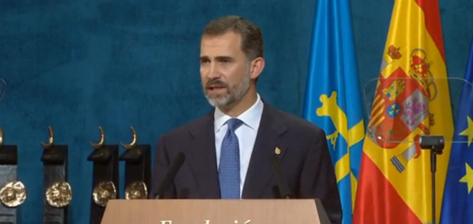 """Felipe VI  advierte a Artur Mas de que: """"Todos los ciudadanos e instituciones estamos sometidos  por igual al mandato de la ley"""""""