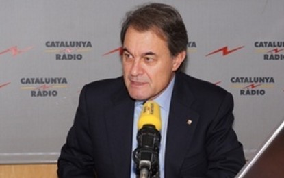 """Artur Mas anuncia """"elecciones anticipadas"""", sin lista única separatista, """"para celebrar el referéndum de autodeterminación"""""""
