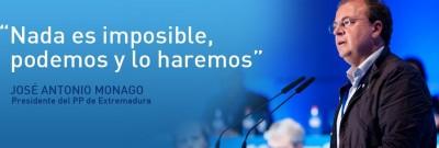Monago - líder del PP