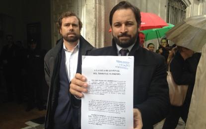"""Vox ha presentado una """"querella criminal contra Rajoy"""" por permitir la """"farsa"""" del 9N separatista catalana"""