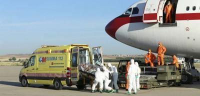 repatriación de una cooperante española por ébola- desde mali