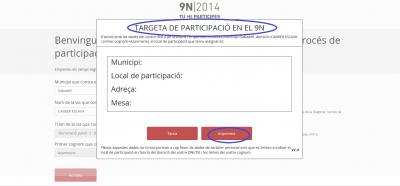 tarjeta de participación al fraude a la ley