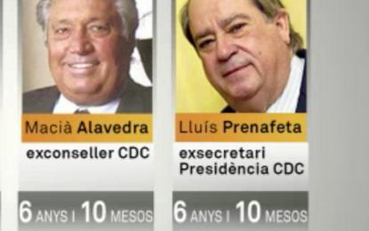 Anticorrupción pide 6 años de prisión para delincuentes ultraseparatistas de CIU del presidente Artur Mas