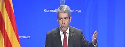 El Gobierno catalán exige respetar la presunción de inocencia de Jordi Pujol